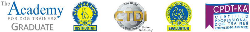 Helen Verte Schwarzmann Dog Training Certifications